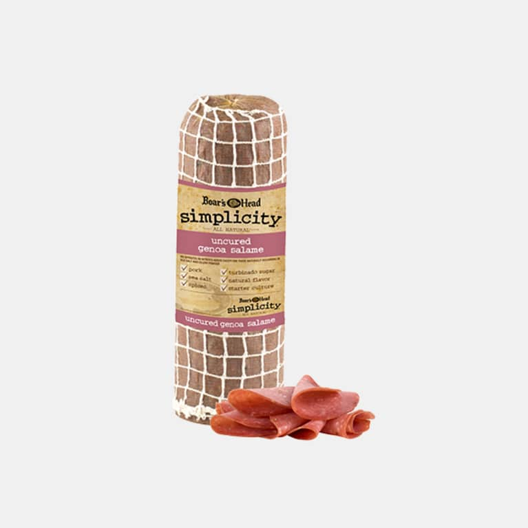 Boar's Head® Simplicity® All Natural* Uncured Genoa Salame
