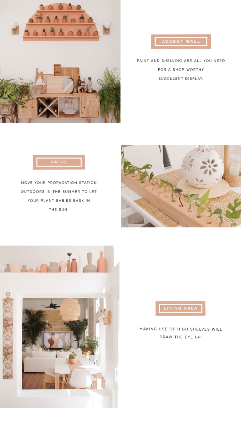 tutorial about how to recreate the look of a calming home