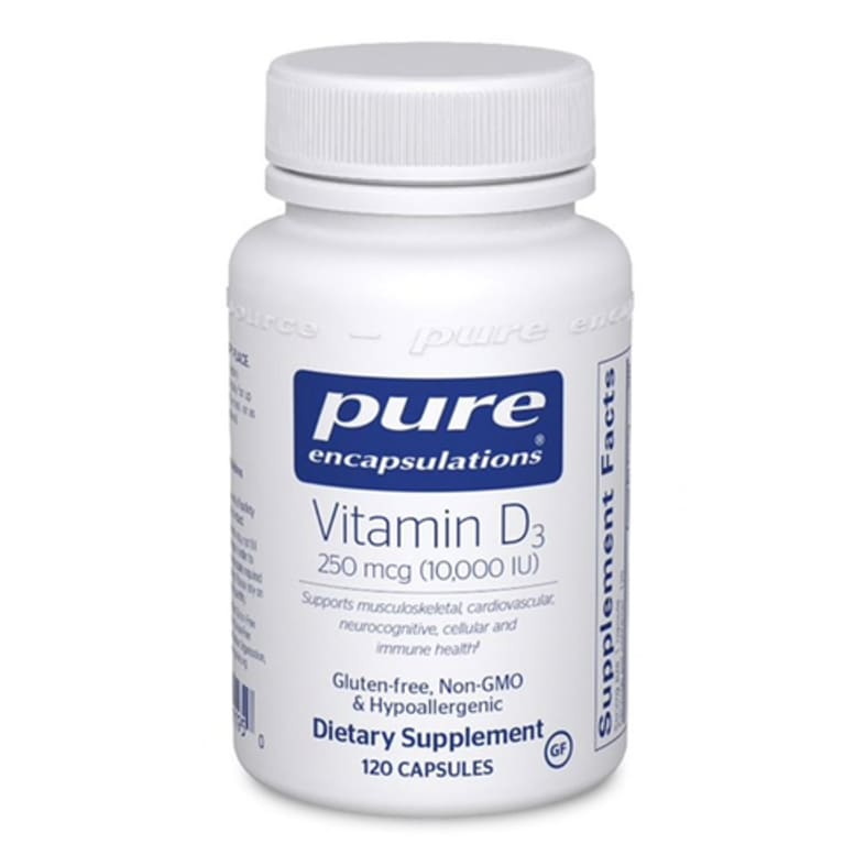 bottle of Pure Encapsulations Vitamin D3