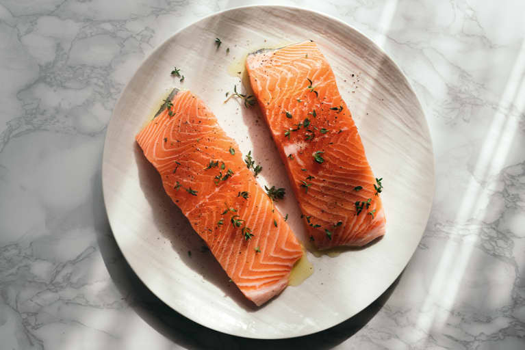You Have To Eat This Much Salmon To Get Enough Astaxanthin (Spoiler: It's A Lot)