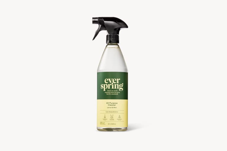 <p>Lemon &amp; Mint All Purpose Cleaner - 28 fl oz - Everspring™</p>