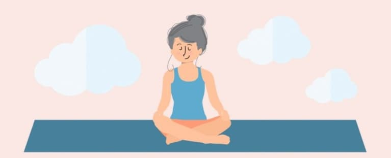 13 Yoga Poses That Will Calm You Down & Bliss You Out (Infographic)