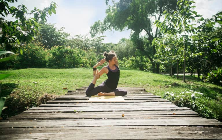 An Energizing Yoga Sequence To Start Your Morning