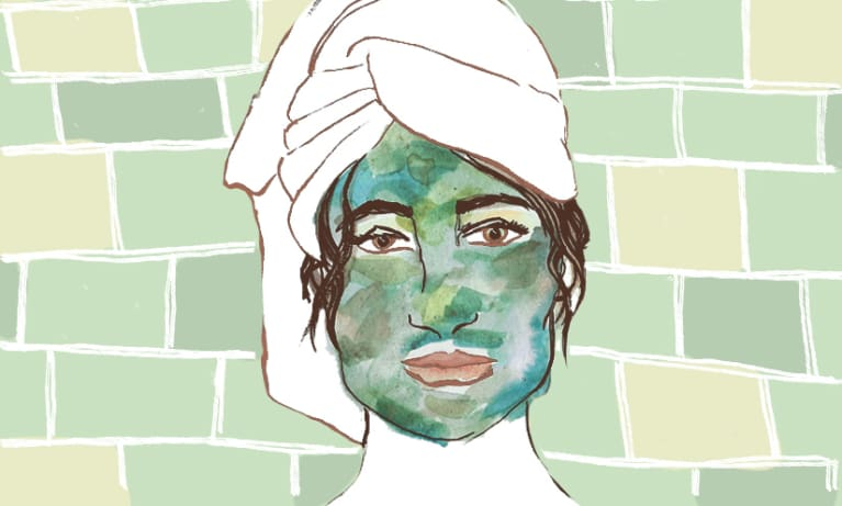 You're Probably Applying Face Masks All Wrong. Here's The Right Way To Do It