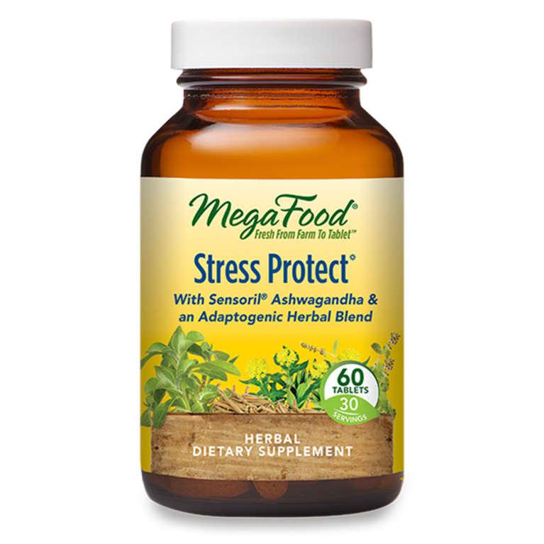 MegaFood stress protect bottle