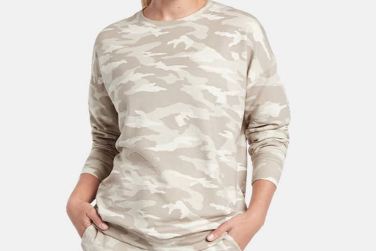 <p>Studio to Street Printed Sweatshirt</p>
