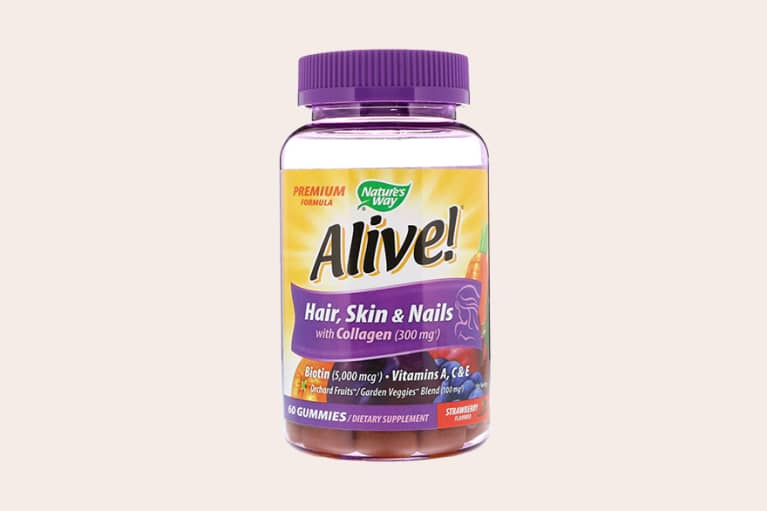 <p>Nature's Way Alive! Hair, Skin &amp; Nails Gummies</p>