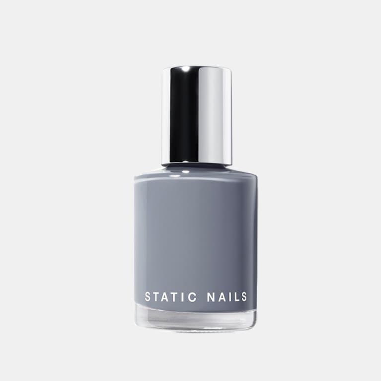 static nails polish