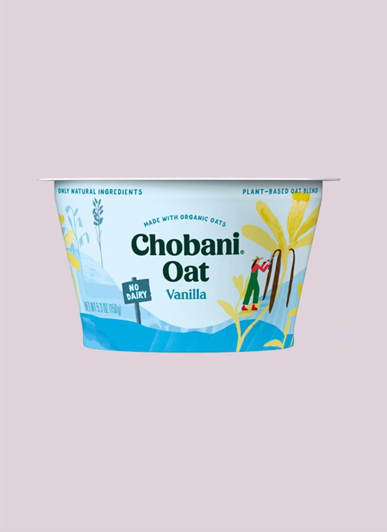 Chobani Oat Based Yogurt