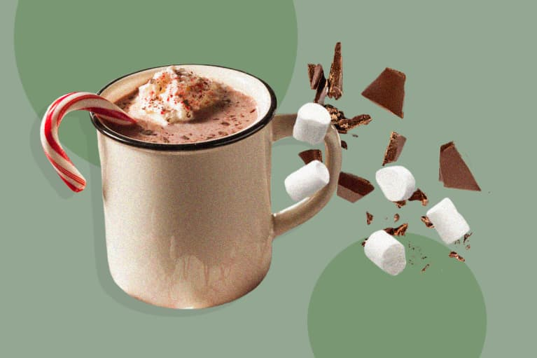 An RD Spills Her Spiked Hot Cocoa Recipe That Is Good For Skin Too*