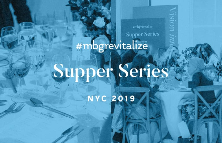 Turning Vision Into Action: Discussing Future Trends In Wellbeing At mbg's revitalize Supper Series