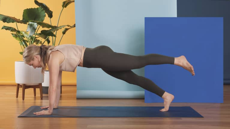 All You'll Ever Need Is This Plank Variation For A Quick Full-Body Workout