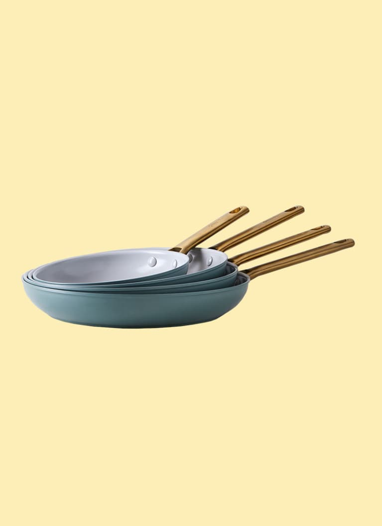 2. For the one who hates cleanup time: Greenpan Nonstick Skillet