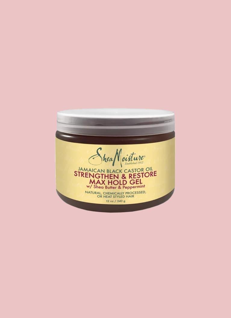 shea moisture amaican Black Castor Oil Strengthen & Restore Max Hold Gel