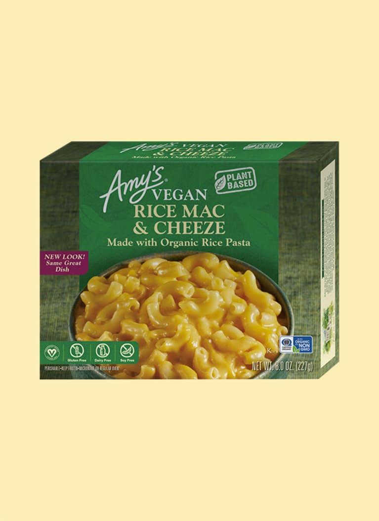 amy's vegan rice mac and cheeze