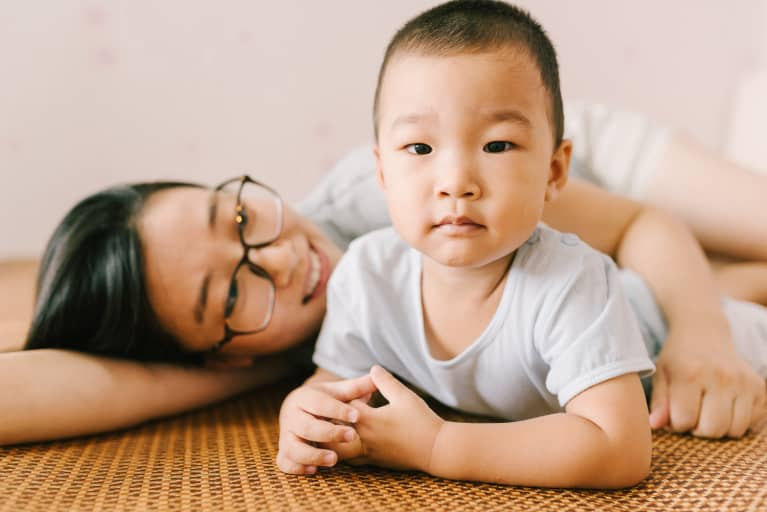 Study Finds How A Mother Plays With A Baby Has Long-Term Affects