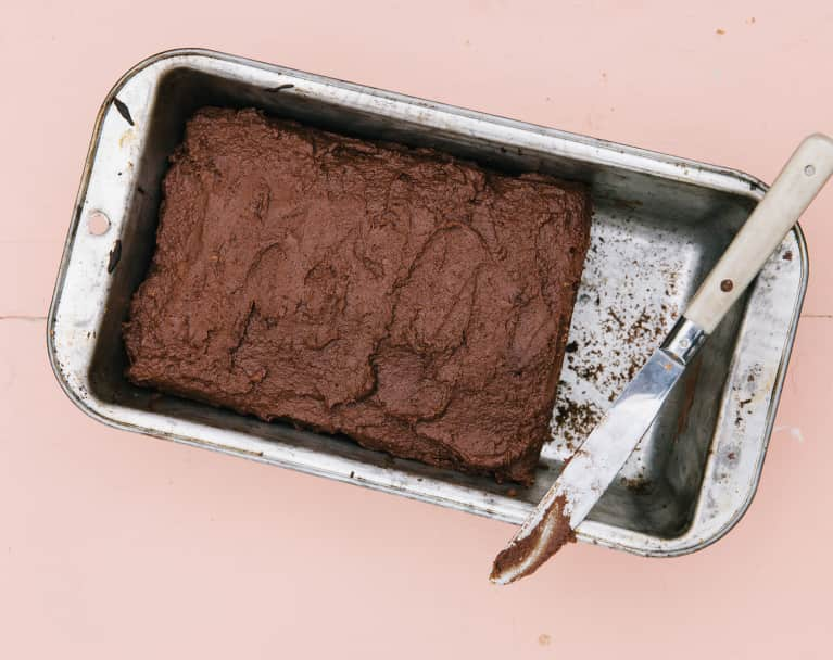 This GF, Vegan Zucchini Bread With Chocolate Sweet Potato Frosting Is Healthy Enough To Eat For Breakfast
