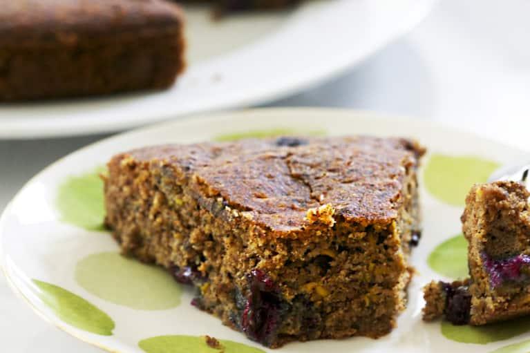 Blueberry-Zucchini Bread (Vegan & Gluten-Free!)