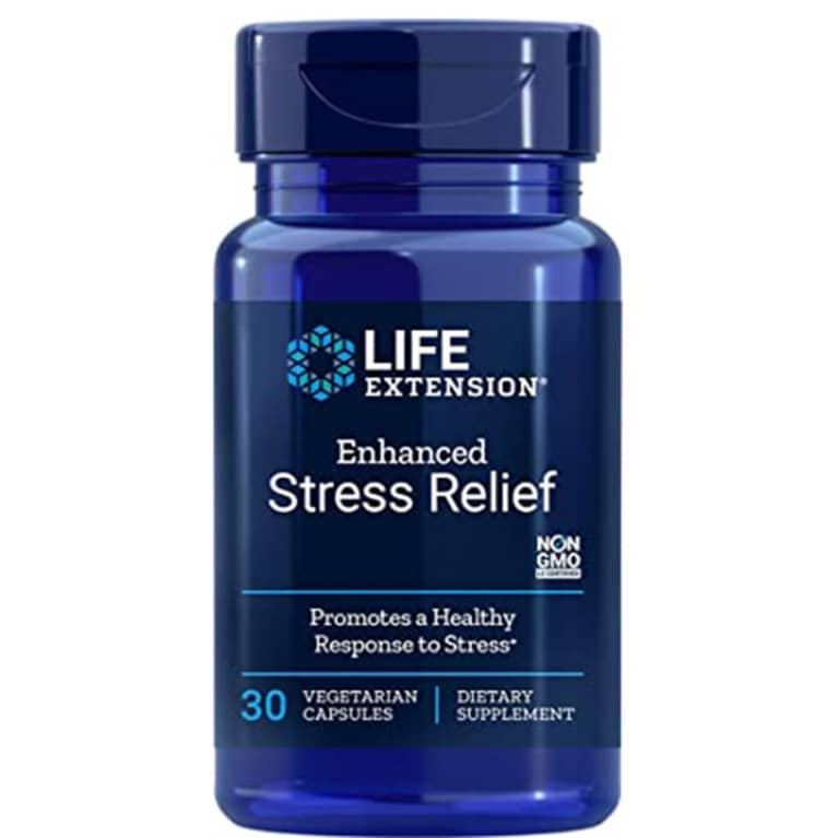 Life Extension Stress Relief supplement