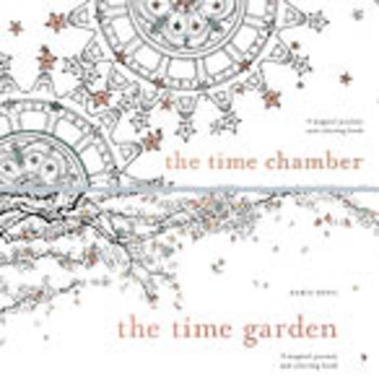Adult Coloring Book Trend Daria Song Author Of The Time Garden And Chamber