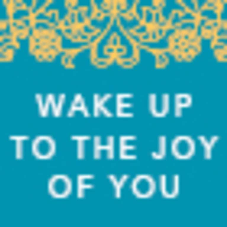 Agapi Stassinopoulos, the author of Wake Up to The Joy of You