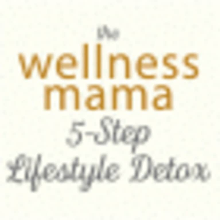 Katie Wells, author of The Wellness Mama 5-Step Lifestyle Detox