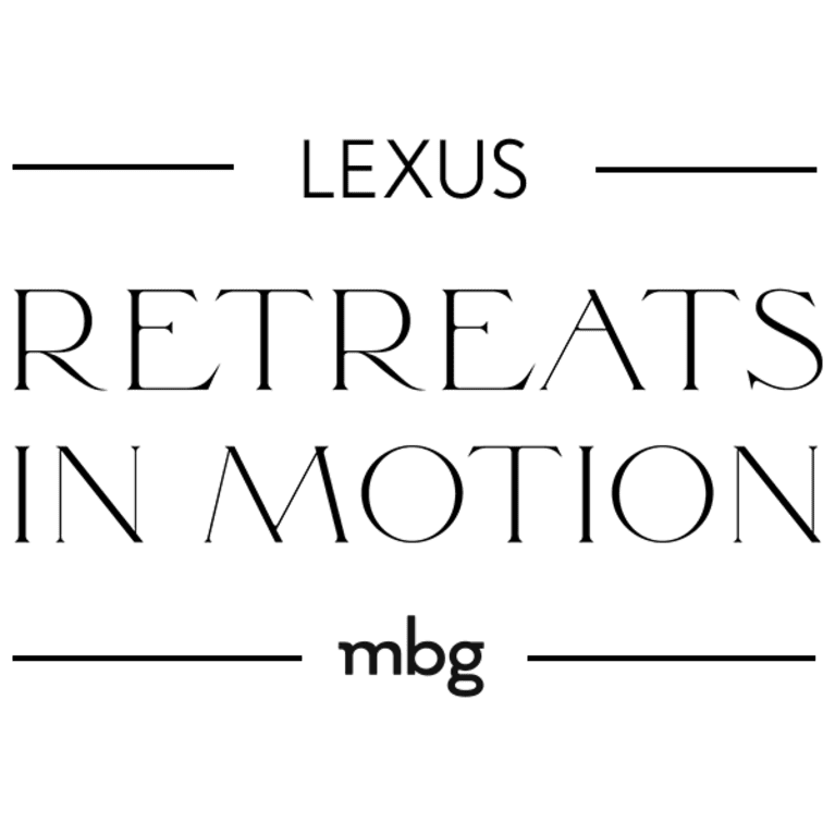 Lexus Retreats in Motion
