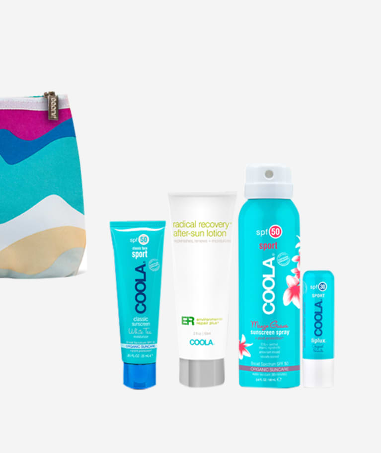 COOLA Suncare Organic Suncare Sport Travel Set