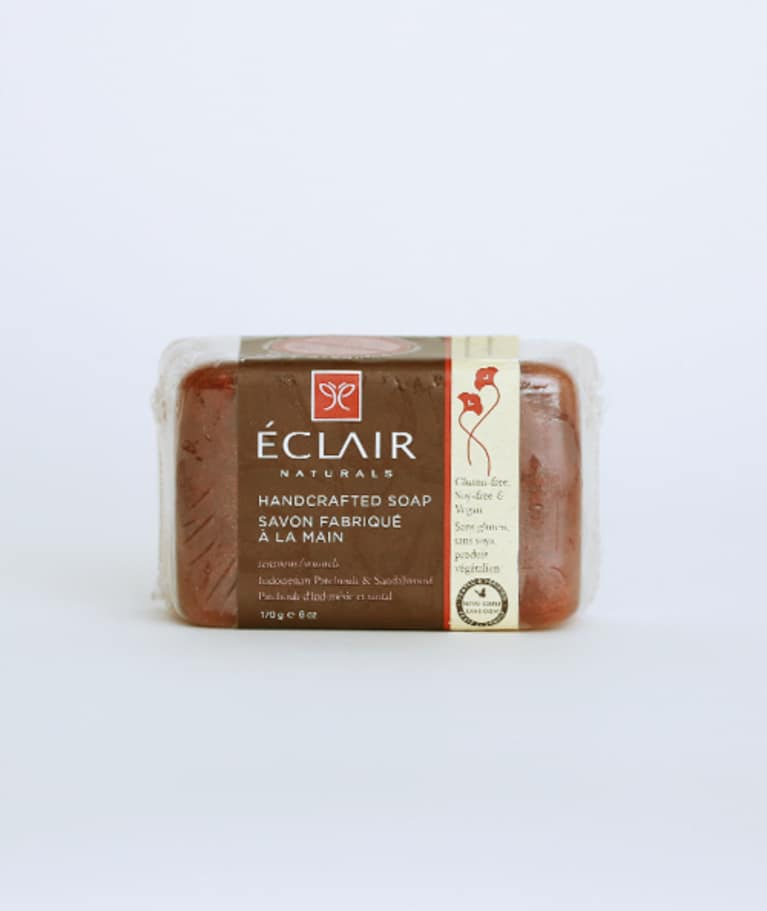 Éclair Naturals Handcrafted Soap in Indonesian Patchouli & Sandalwood