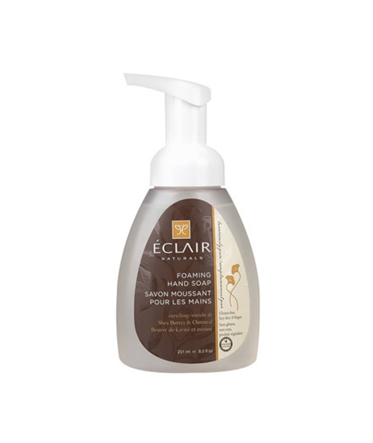 Éclair Naturals Foaming Hand Soap in Shea Butter & Oatmeal